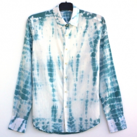 Chemise tie and dye nuage