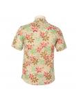Chemise Homme Manches Courtes Imprimé multicolor à Fleurs