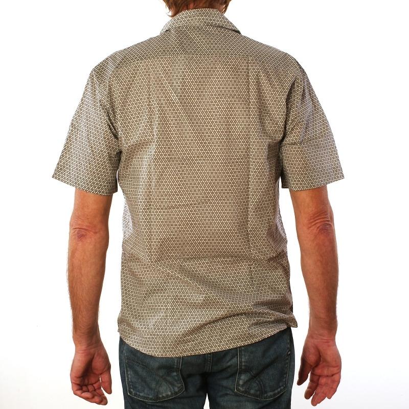 chemise homme coton manches courtes imprim ruche. Black Bedroom Furniture Sets. Home Design Ideas