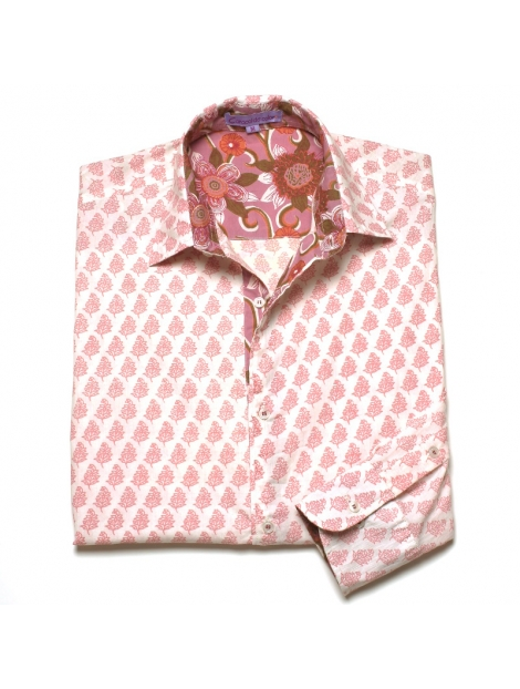 Chemise Homme Coton Imprimé Jodhpur