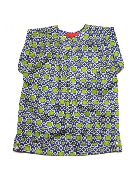 Top Femme Sans Manches coton imprimé Moucharabieh