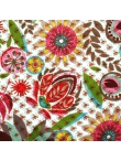 Robe Pampelune En Coton Imprimé