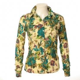 Chemise Femme Coton Imprimé Blossom